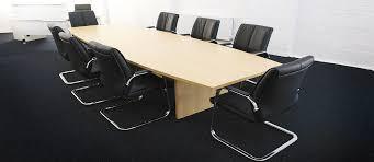 Oak Boardroom Table New U0026 Used Office Furniture Aline Office Furniture Ie