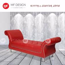 Mf Design Furniture Mf Design Kitty Sofa 2 Seater Sofa Lazada Malaysia