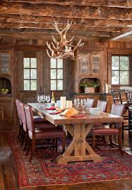 Area Rugs For Cabins Spanish Peaks Cabin A Rustic Gateway To Big Sky U0027s Unspoiled Beauty