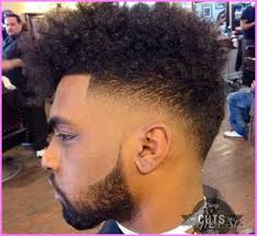 todays men black men hair cuts style nice high fade haircut black men with curls stars style