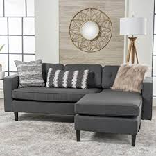 amazon com windsor living room 2 piece chaise sectional sofa