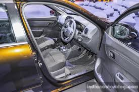 kwid renault interior renault kwid 1 0 interior at the auto expo 2016 indian autos blog