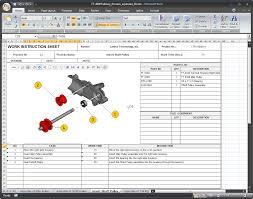 Bill Of Materials Excel Template 3d Product Visualization Meets Excel Desktop