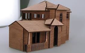 House Model Photos Architectural Model House Laser Cutting