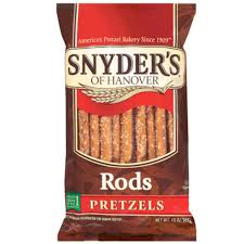 where to buy pretzel rods snyder s pretzel rods 12 oz