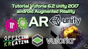 android studio vuforia tutorial tutorial vuforia 6 2 unity 2017 android augmented reality youtube