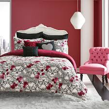 Fuschia Bedding Betsey Johnson Rock Out Comforter Set From Beddingstyle Com
