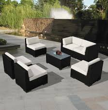 Couch And Chaise Lounge Beautiful Outdoor Patio Wicker Furniture Sofa Dining And Chaise