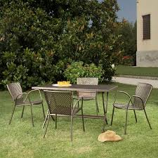 Metal Patio Furniture Paint - aluminum patio dining sets patio design ideas metal furniture