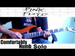 How To Play Comfortably Numb Solo On Guitar Cover Pink Floyd Comfortably Numb Solo How To Play On