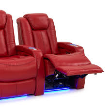 home theater seating seatcraft delta leather home theater seating power recline row