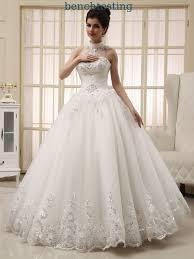 brautkleid aus china kleider weißes herz geformte damen halter hals brautkleider