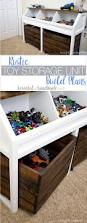 How To Make A Wooden Toy Box Bench by Best 25 Kids Storage Ideas On Pinterest Kids Bedroom Storage