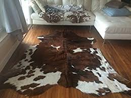 Calfskin Rug Amazon Com Superior Quality Rodeo Cowhide Rug Size 5x7 Feet