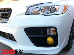 lexus is yellow fog lights 08 13 subaru wrx sti precut yellow fog light overlays tint