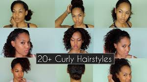 20 quick u0026 chic curly hairstyles for everyday u0026 nights out