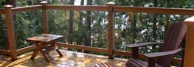 Banister Options Deck Railings Materials Designs Styles Building Tips