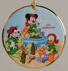 grolier disney annual ornaments flat at replacements ltd