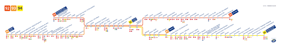 Brussels Metro Map by Logistical Information Brussels Centre For Economic Policy Research