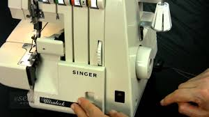 overview singer serger overlock sewing machine free sample
