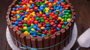 cake photos of mandms kit cake recipe genius kitchen