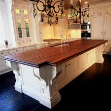 butcher block island top kitchendiy countertop ideas modern