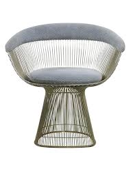 armchair by warren platner for knoll mid century modern oneandhome