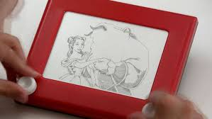 etch a sketch beauty and the beast disney princess disney video