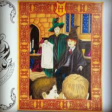 73 harry potter coloring book images harry
