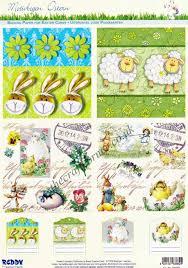easter rabbits sheep u0026 collage designs die cut 3d decoupage 2