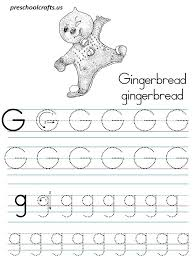 letter g tracing worksheets preschool free worksheets library
