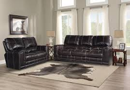 Living Room Furniture Sofas by Salinger Sangria Sofa Dual Power Recliner By Parker Living