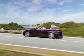 nissan convertible 2018 2018 mercedes e class cabriolet making us debut in new york first