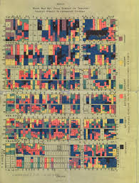 Chicago Neighborhood Map Poster by Chicago Workers During The Long Gilded Age Digital Collections
