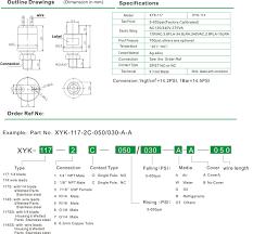 xyk 114 117 pressure switch u2014sencon electric co ltd