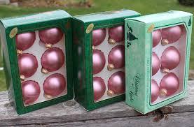 by krebs tuscany pink glass ornaments