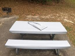 Picnic Table Bench Covers Table Glove Fitted Marine Grade Vinyl Picnic Tablecloth Sets
