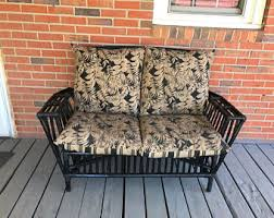 Rattan Settee Etsy Your Place To Buy And Sell All Things Handmade