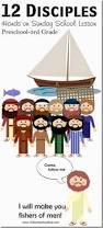 Fishers Of Men Craft For Kids - 12disciples thumb1 jpg imgmax u003d800
