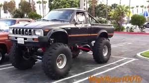 toyota trucks 1982 toyota monster truck old mini truckin youtube