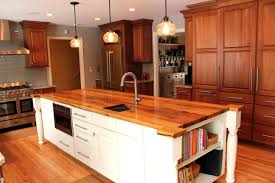 countertop wood kitchen countertops butcher block installation