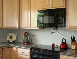 easy kitchen backsplash the easiest and cheapest backsplashes you can install