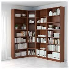 Ikea Billy Corner Bookcase Dimensions Billy Bookcase Brown Ash Veneer 215 135x237x28 Cm Ikea