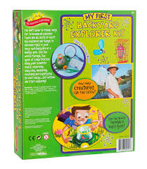 amazon com scientific explorer backyard kit toys u0026 games