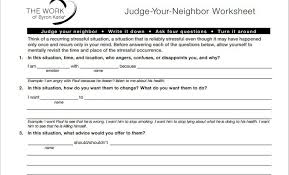 byron katie worksheets free worksheets library download and