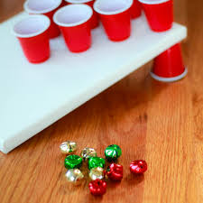 holiday party games jingle bell toss