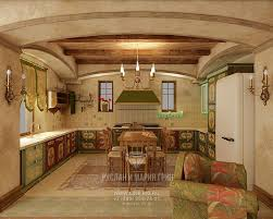 modern kitchen design ideas in the russian country style design