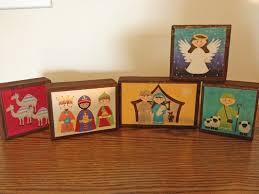 lifetalesbooks personal publishing chunky nativity craft blocks