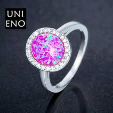 fire rings jewelry images Fashion opal rings fine jewelry women 39 s rings pink fire opal ring jpg