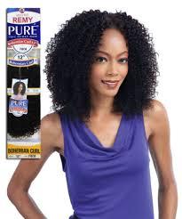 jheri curl weave hair pure bohemian curl weave milkyway 100 human hair extension 10